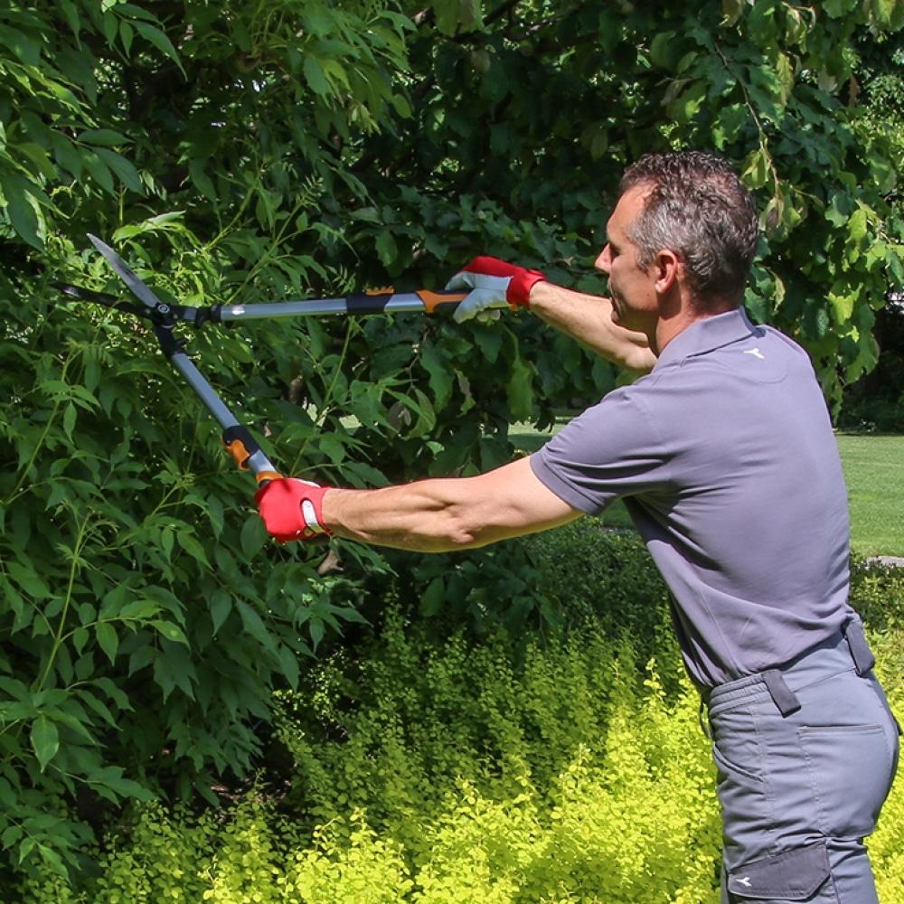 Ножици за храсти с телескопични дръжки профи серия VALEX Италия