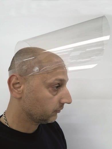 Защитен шлем за лице